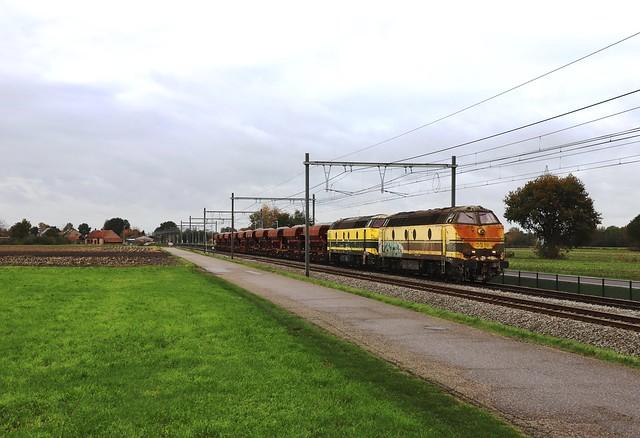 TUCRAIL 5518 + 5508 - Geel-Kievermont 30/010/2020.