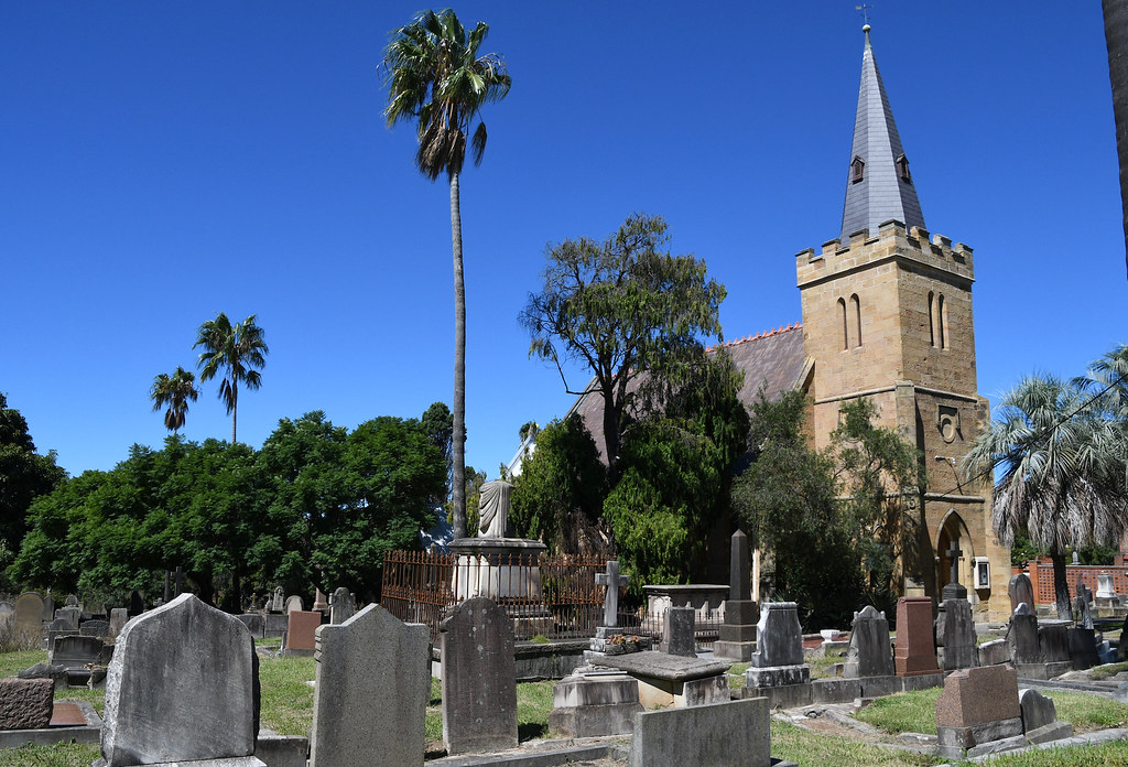 St Thoma's Anglican Church Cemetery, Enfield, Sydney, NSW.