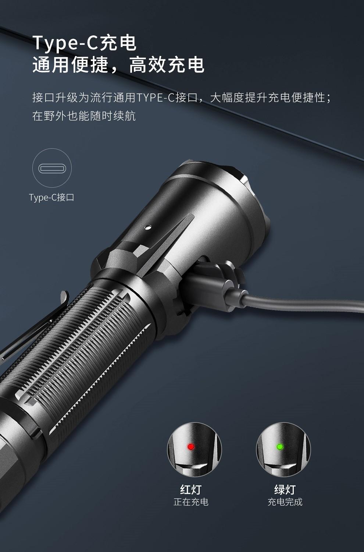 KLARUS XT21C 戰術手電筒 3200流明 -6