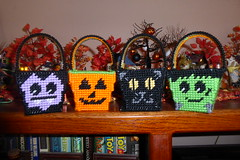 Four baskets