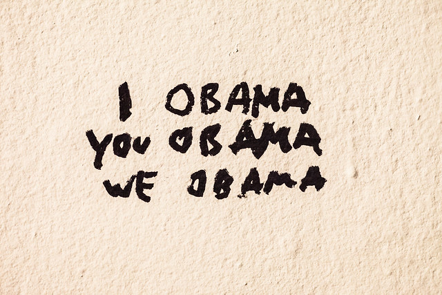 I Obama, You Obama, We Obama