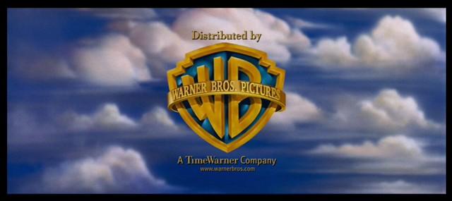 Warner Bros Pictures WB logo sky clouds