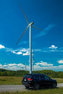 Jeep & Windmill