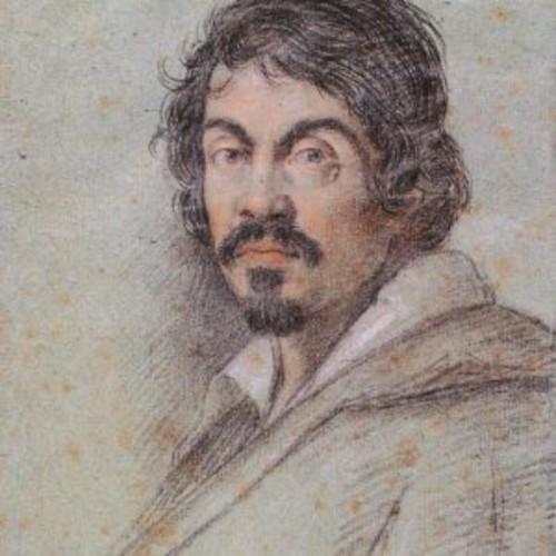 portrait of carravaggio Ottavio Leoni