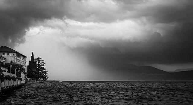 Severe Storm Over Lake Garda .....