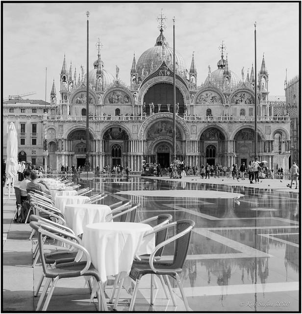 San Marco con acqua alta_Rolleiflex 2.8E