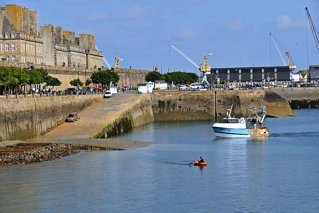 Saint-Malo / Bretagne / Harbor