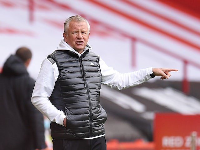 Chris Wilder's Burnley before Match of the Day 31/10/20