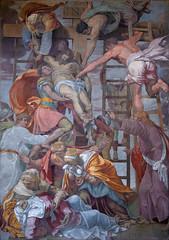 La Déposition, Daniele da Volterra, Église de la Trinité-des-Monts, Rome, 2020
