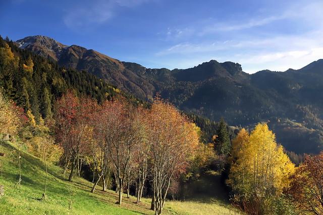 Autumn in Val Trompia
