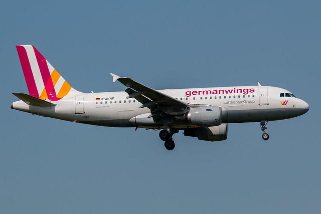 Germanwings Airbus A319-100 D-AKNF