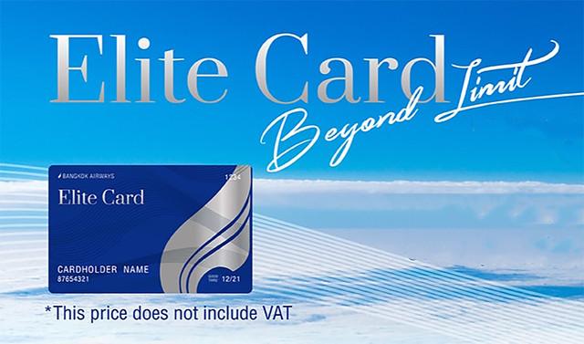 bangkok airways elitecard