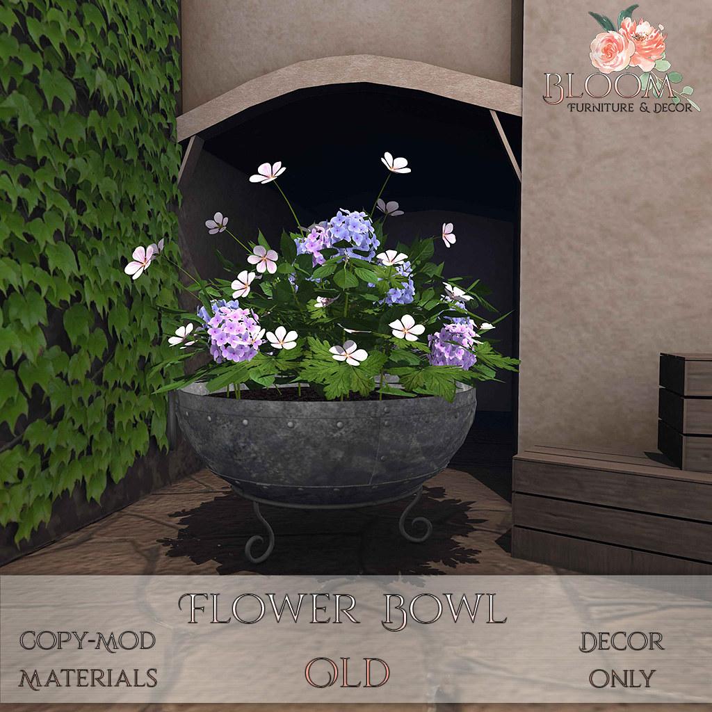 Bloom! – Flower Bowl OldAD