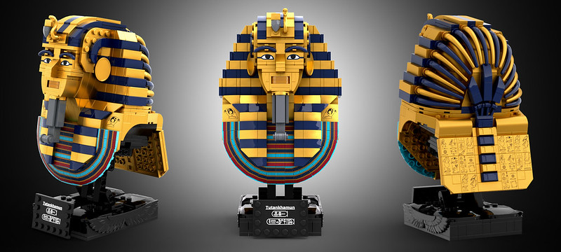 LEGO IDEAS Tutankhamun updated