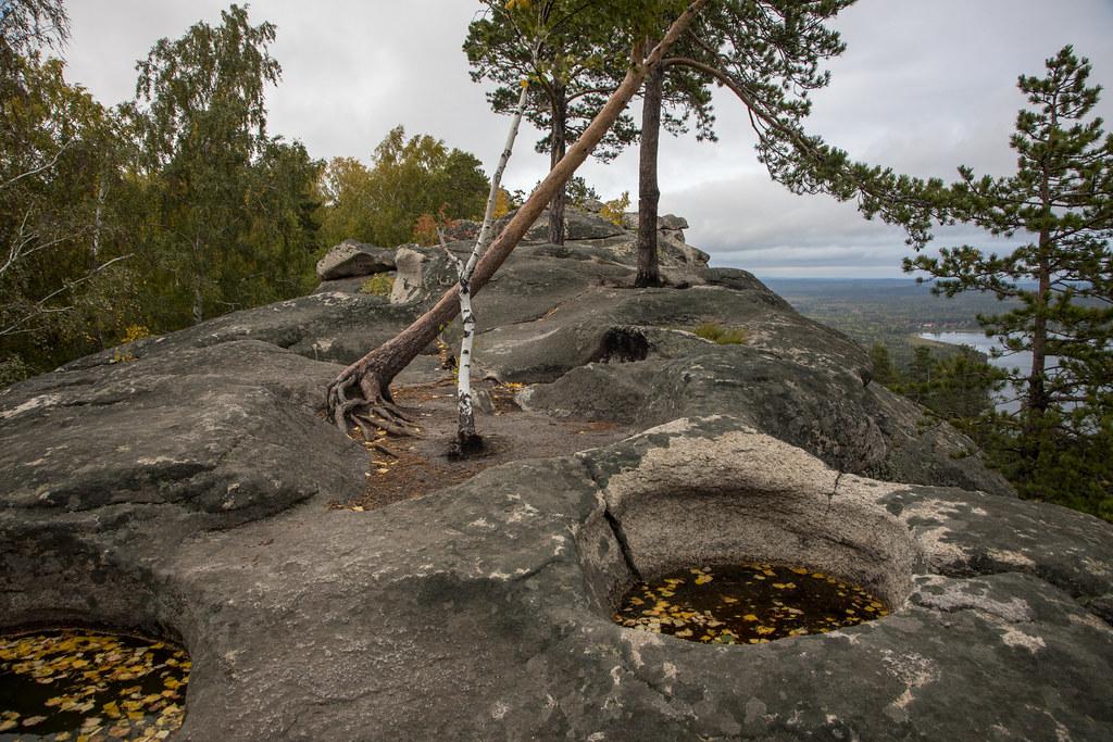 Witch's cauldrons. Arakul Ridge, Ural, Russia (0U4A6004)