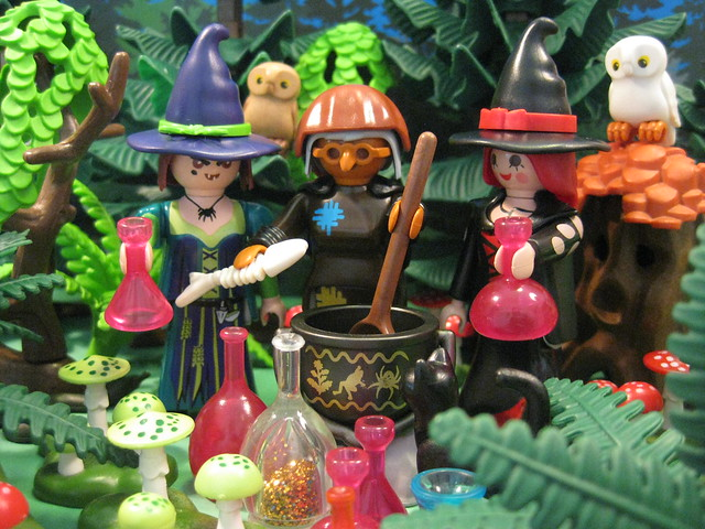 The Witches Cast an All Hallows' Eve Spell