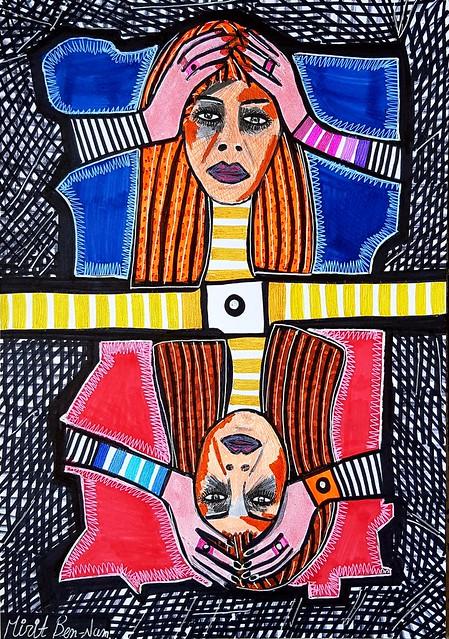 אמנות פנטזיה מירית בן נון ציור ישראלי חדשני מודרני עכשווי