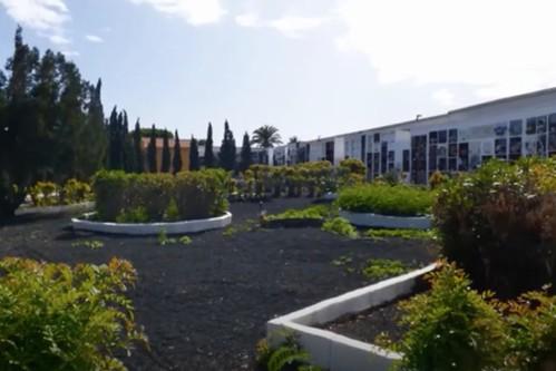 Vista del Cementerio Parroquial San Sebastián de Agüimes