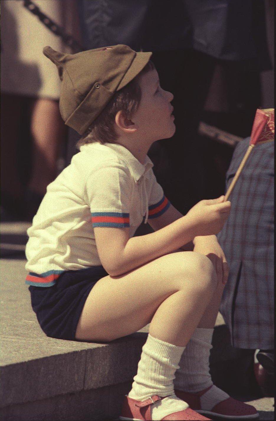 1970-е. На Красной площади после парада (1)