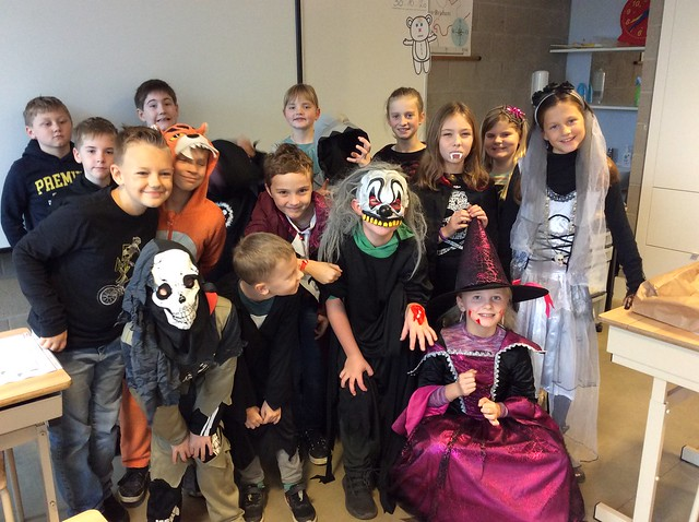 Klas 4: Halloween