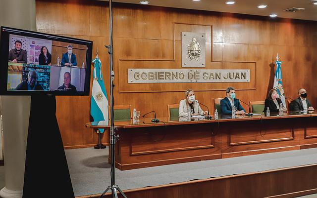 2020-10-30 PRENSA: Uñac firmó un importante convenio de cooperación con la Comisión Provincial por la Memoria