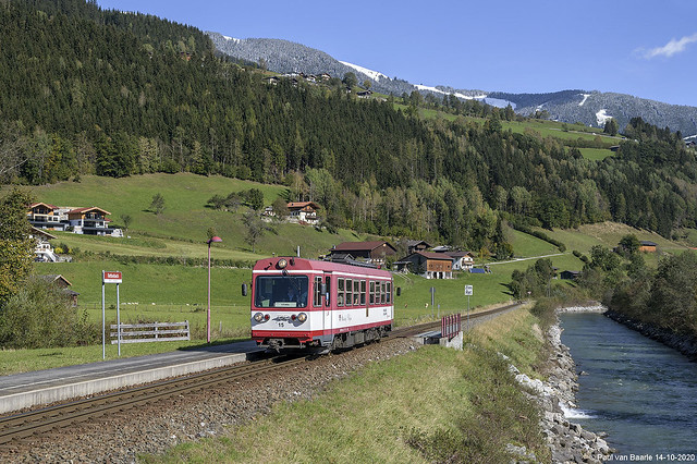 SLB - Pinzgauer Lokalbahn - VTs 15