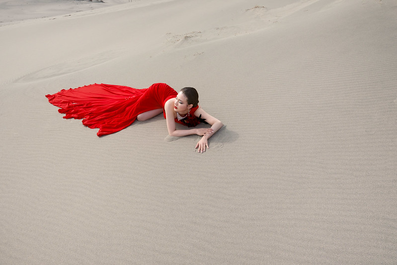 Red on the Dunes