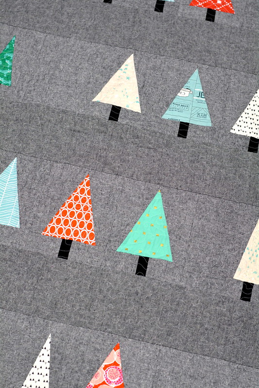 Winter Woods Quilt Rows