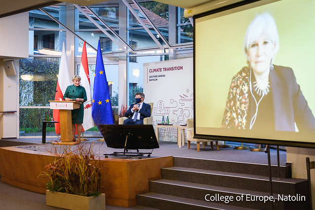 Climate Transition Lecture by Mrs Laurence Tubiana, CEO of the European Climate Foundation
