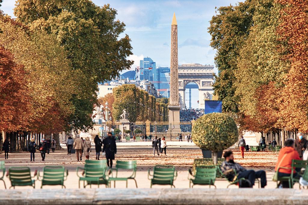 Autumn day in Paris