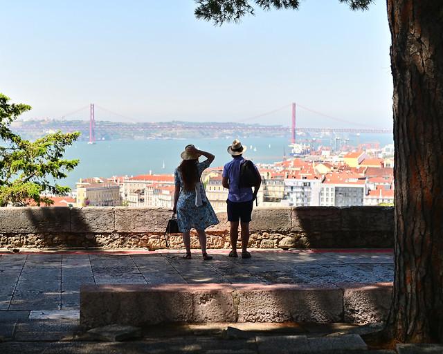 Mirador del Castillo de San Jorge en Lisboa