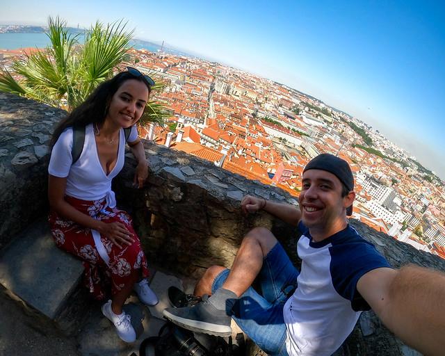 Diario de un Mentiroso en el Castillo de San Jorge en Lisboa