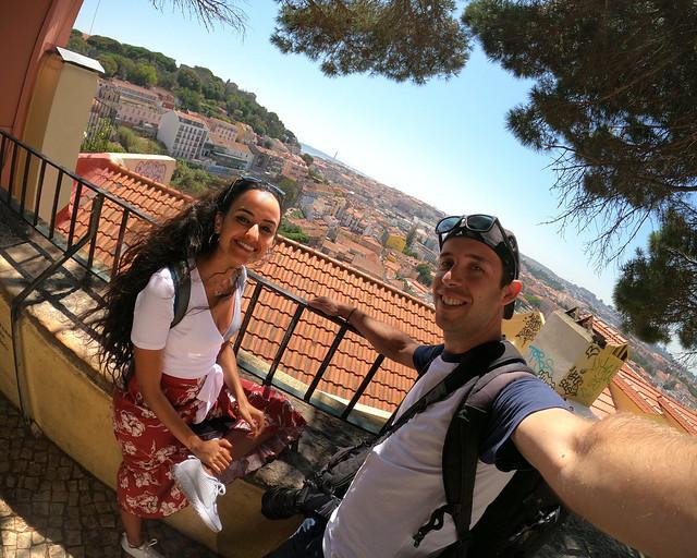 Uno de los miradores más bonitos de Lisboa