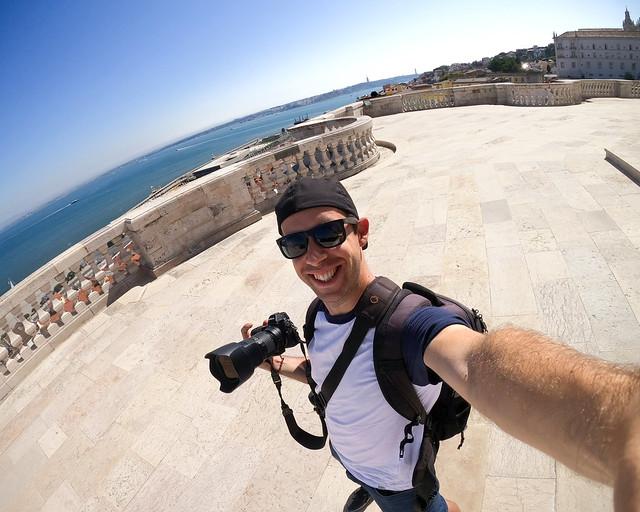 Vistas desde la cúpula del Panteón de Lisboa
