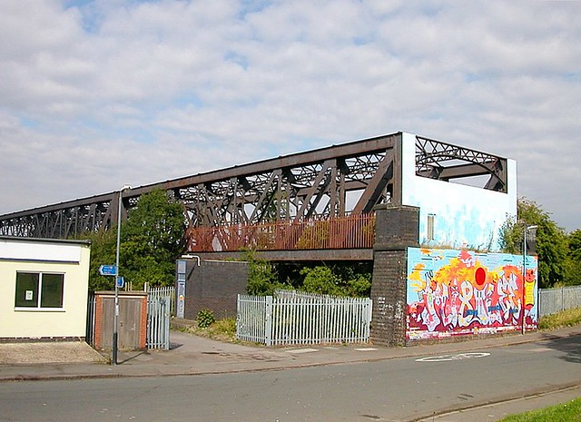 Rugby-Great Central Railway Birdcage Bridge