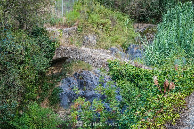 La Resclosa y el Pont Sec del Camí del Rec
