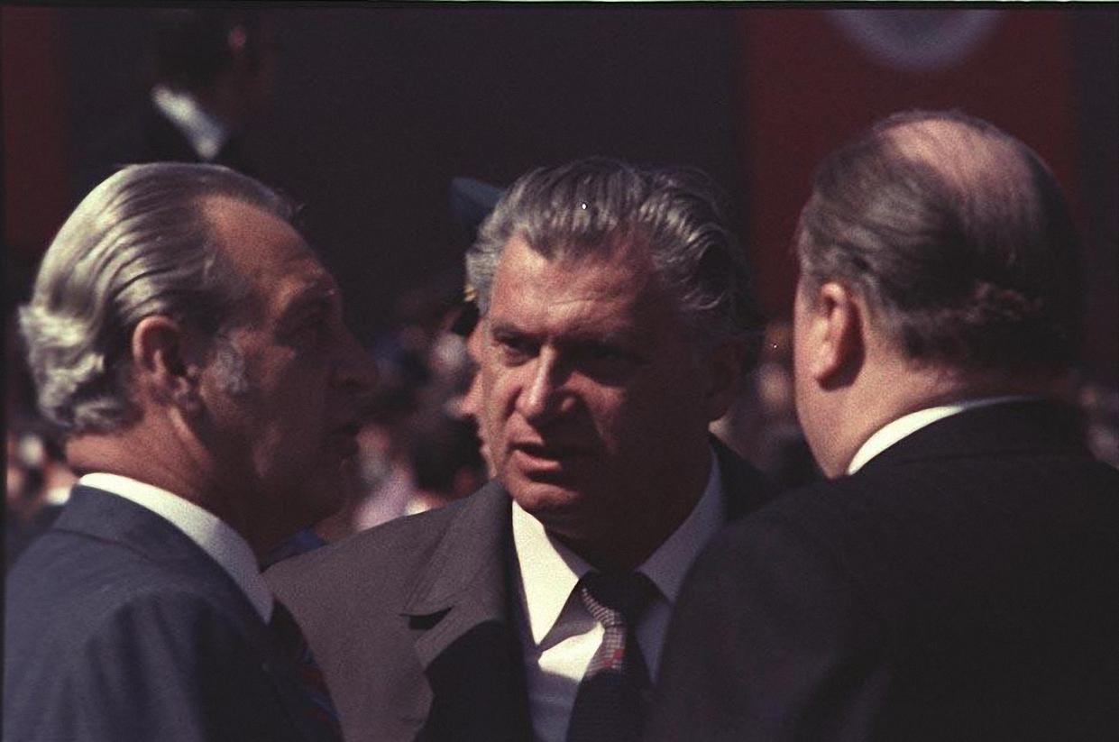 1970-е. На Красной площади после парада (4)