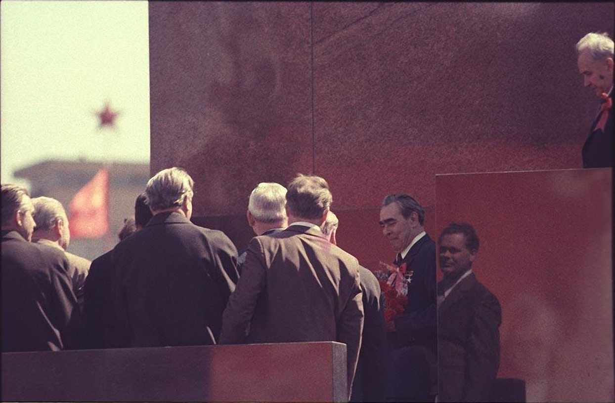 1970-е. На Красной площади после парада (3)
