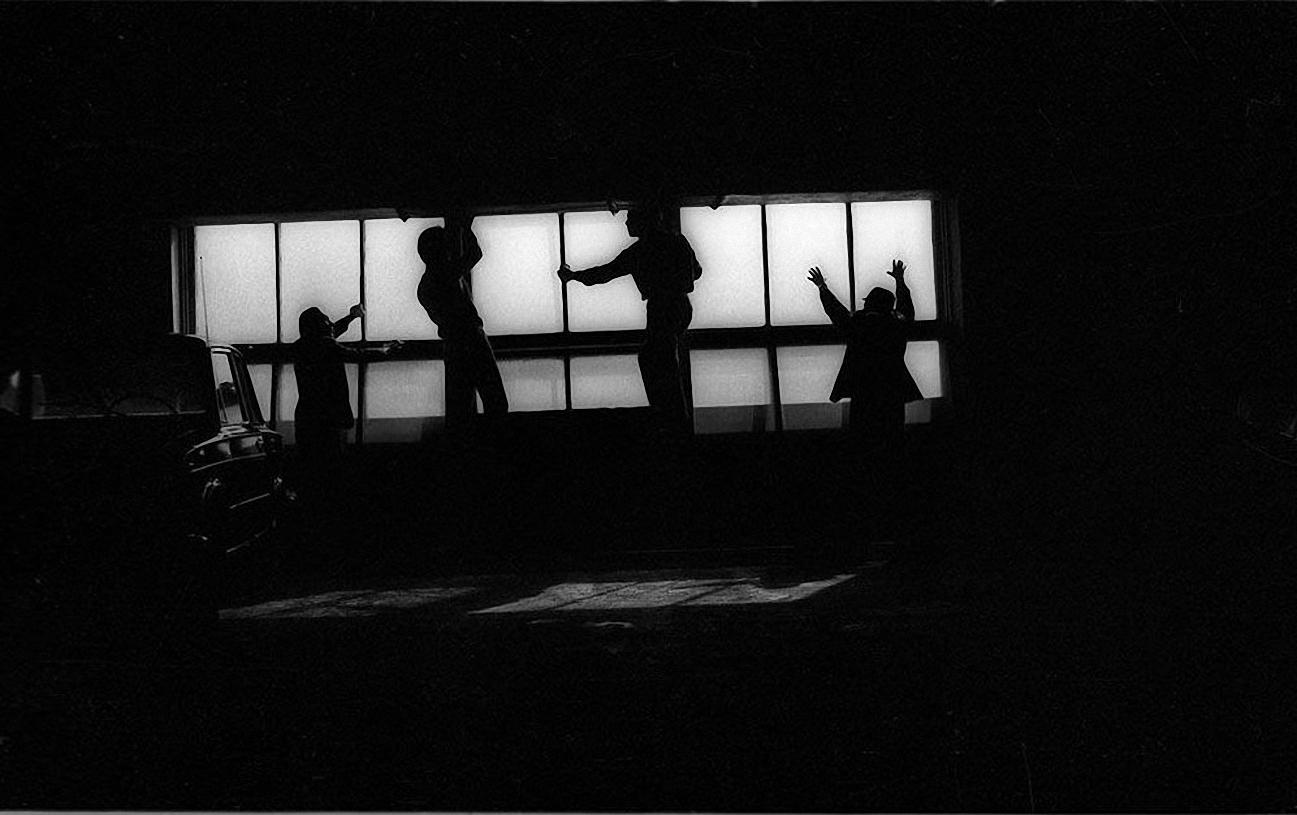 1970-е. Вставка стекла