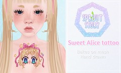 Sweet alice ad FLICKR