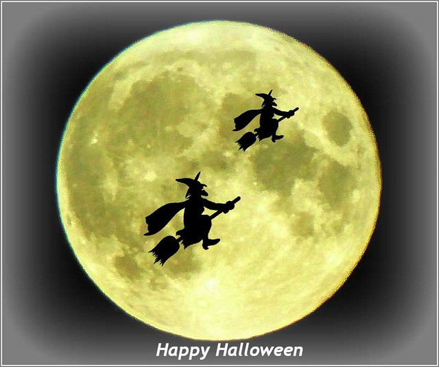 Witches in Flight ..
