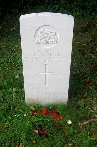 War Grave, Chester, Overleigh Cemetery