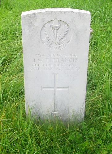 Overleigh Cemetery, Chester, War Grave