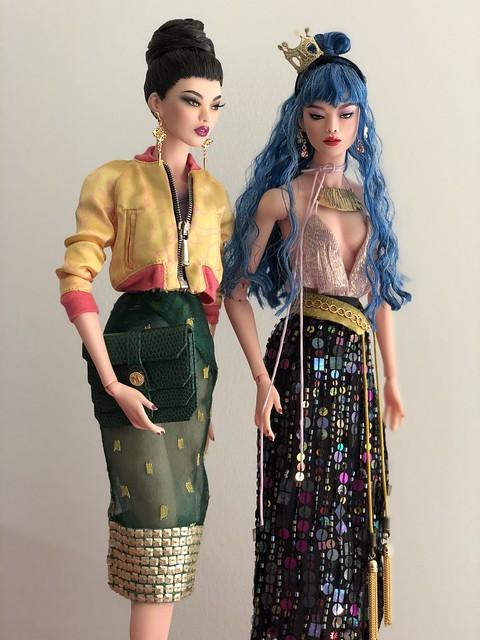 Dollcis Numina EunHa sisters 💜