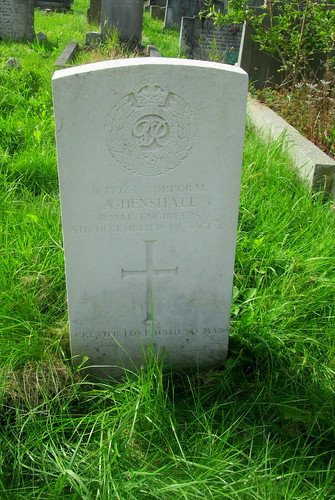 Second World War Grave, Overleigh Cemetery, Chester,