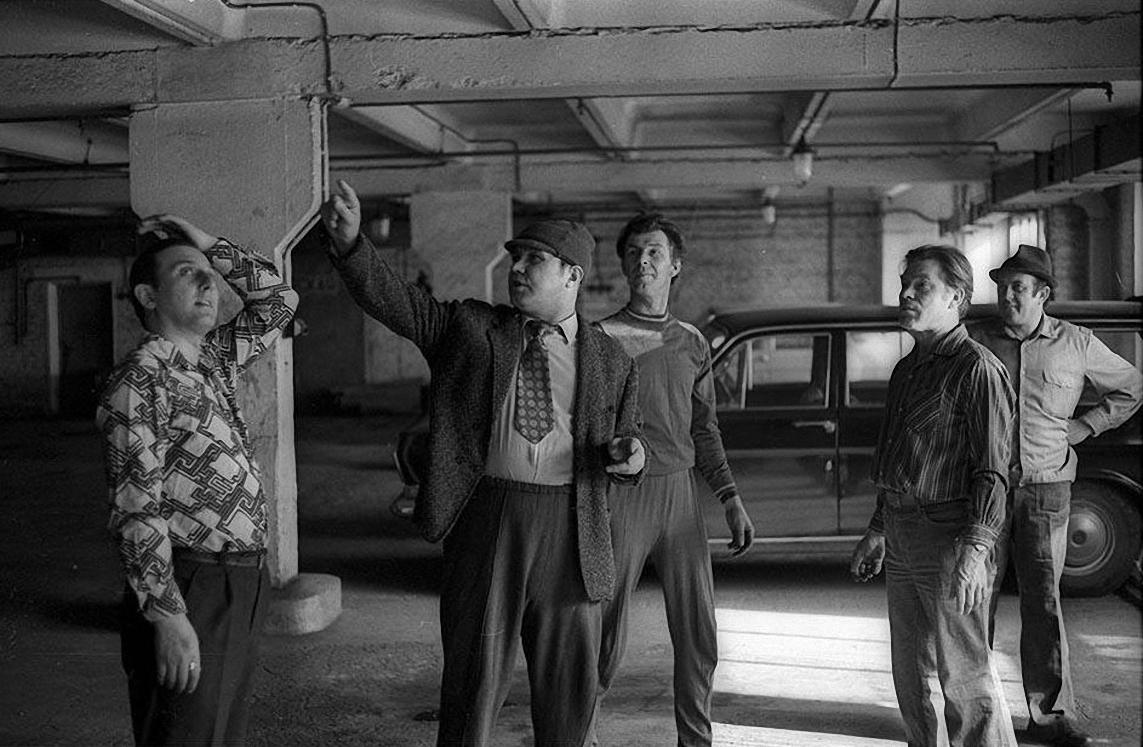 1970-е. Начальник гаража