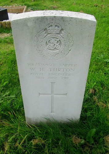 Overleigh Cemetery, Chester, Great War Grave