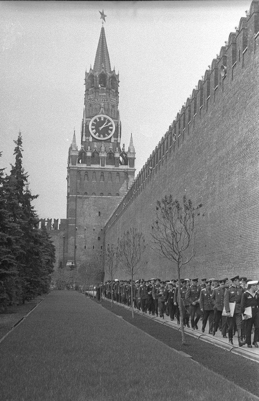 1970-е. Вдоль Кремлевской стены
