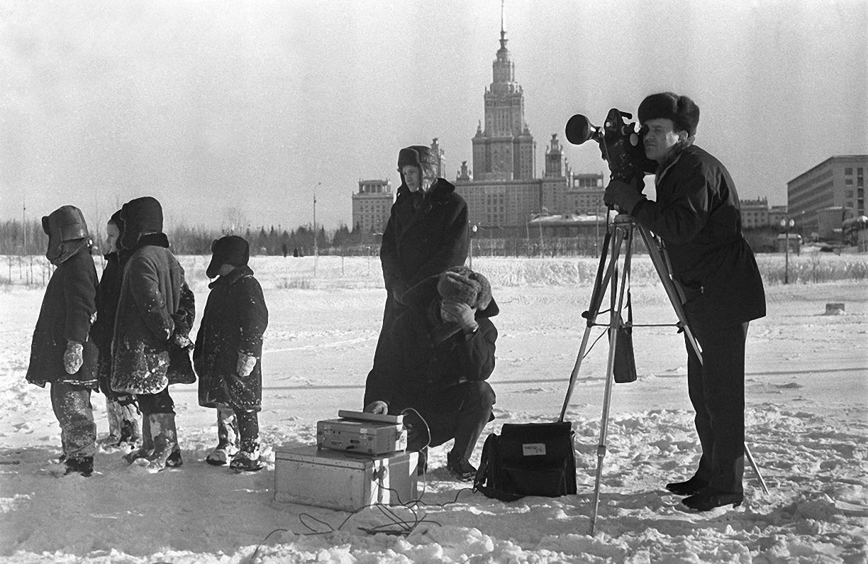 1970. Иностранный корреспондент. Ленинские горы