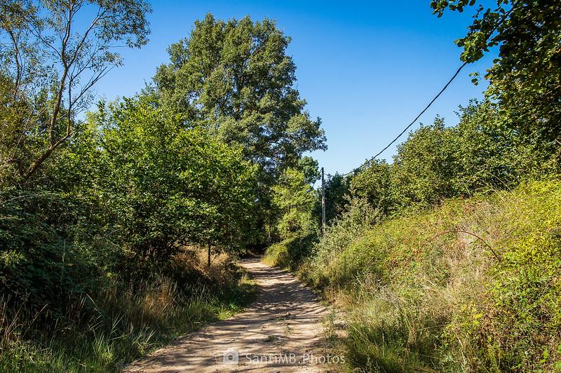 Camí Vell de Montblanc a 500 metros de Prades